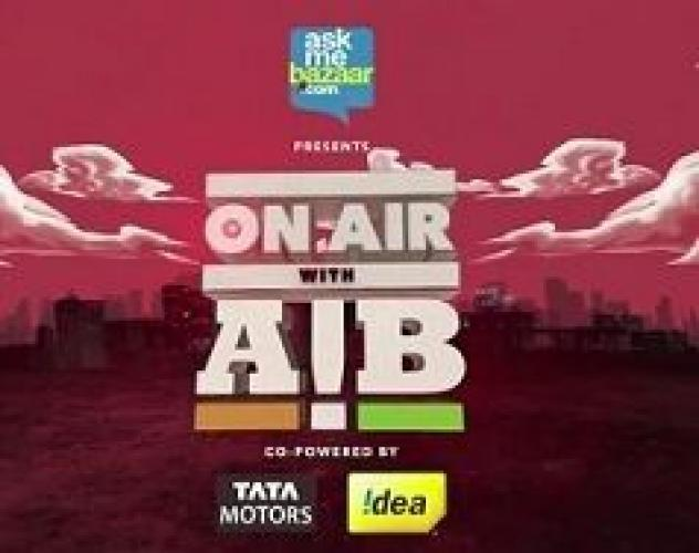 On Air with AIB next episode air date poster