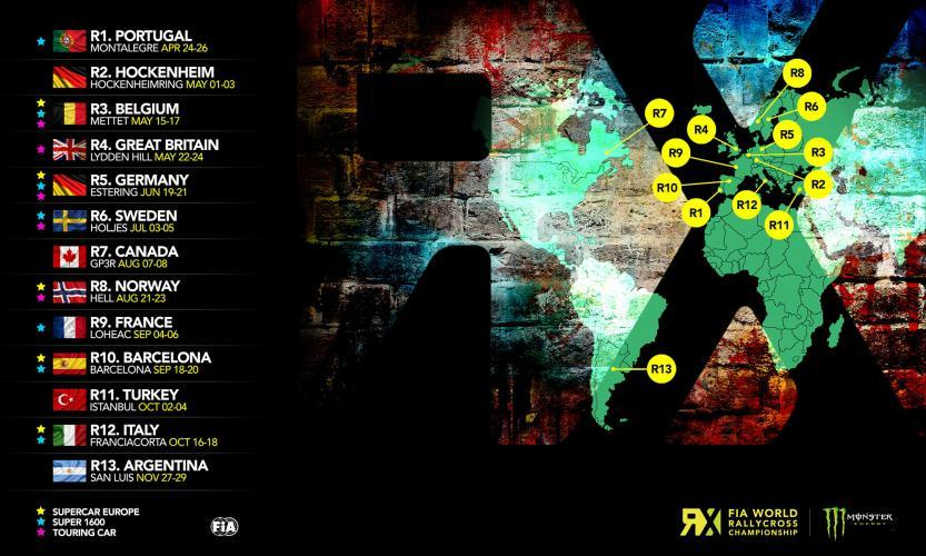 FIA World Rallycross Championship Live next episode air date poster