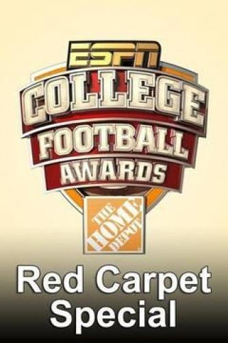 College Football Awards Red Carpet Special next episode air date poster