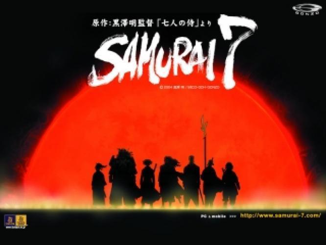Samurai 7 next episode air date poster