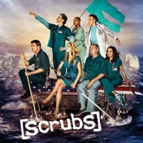 Scrubs next episode air date poster