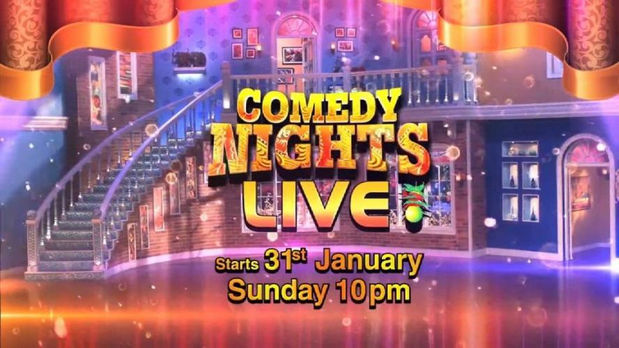 Comedy Nights Live next episode air date poster