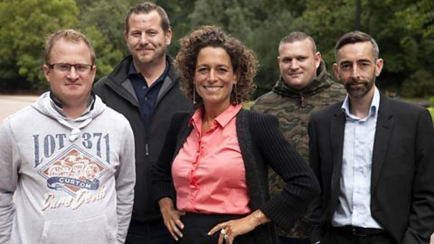 Alex Polizzi: Hire Our Heroes next episode air date poster