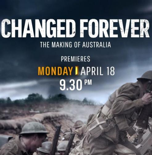 Changed Forever: The Making of Australia next episode air date poster
