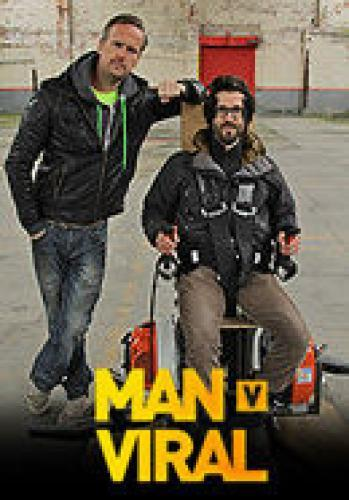 Tim Shaw's Man v. Viral next episode air date poster