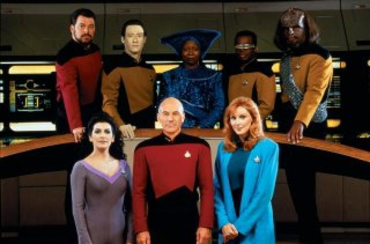Star Trek: The Next Generation next episode air date poster