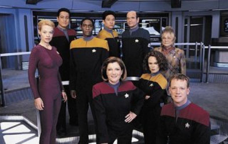 Star Trek: Voyager next episode air date poster