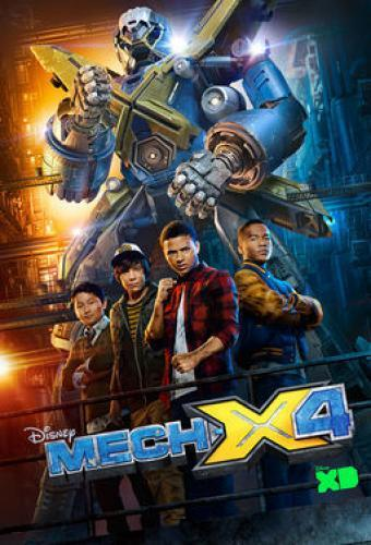 MECH-X4 next episode air date poster