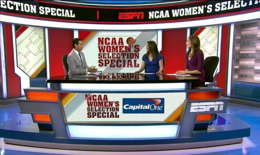 NCAA Women's Basketball Selection Special next episode air date poster