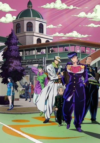 JoJo no Kimyou na Bouken: Diamond wa Kudakenai next episode air date poster