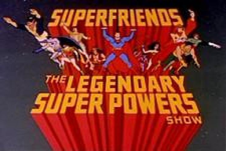 SuperFriends: The Legendary Super Powers Show next episode air date poster