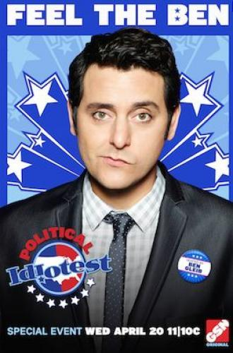 Political Idiotest next episode air date poster