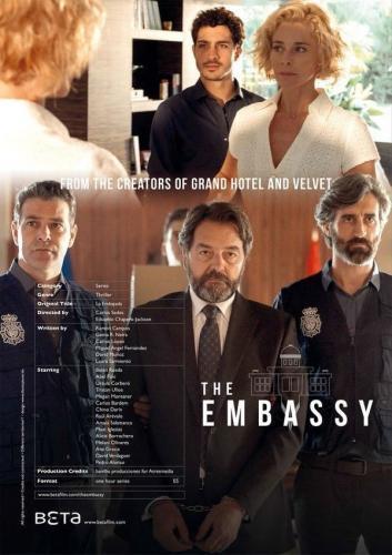 La Embajada next episode air date poster