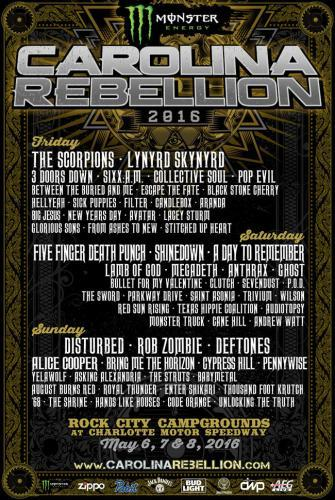 Monster Energy Carolina Rebellion next episode air date poster