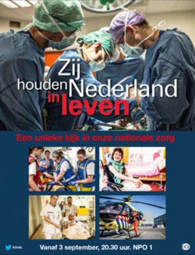 Zij houden Nederland in leven next episode air date poster