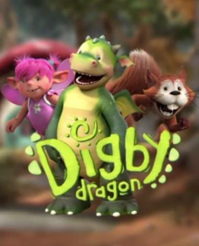 Digby Dragon next episode air date poster