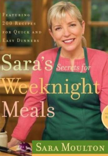 Sara's Weeknight Meals next episode air date poster