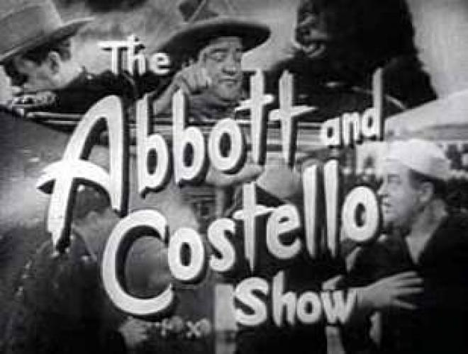 The Abbott and Costello Show next episode air date poster
