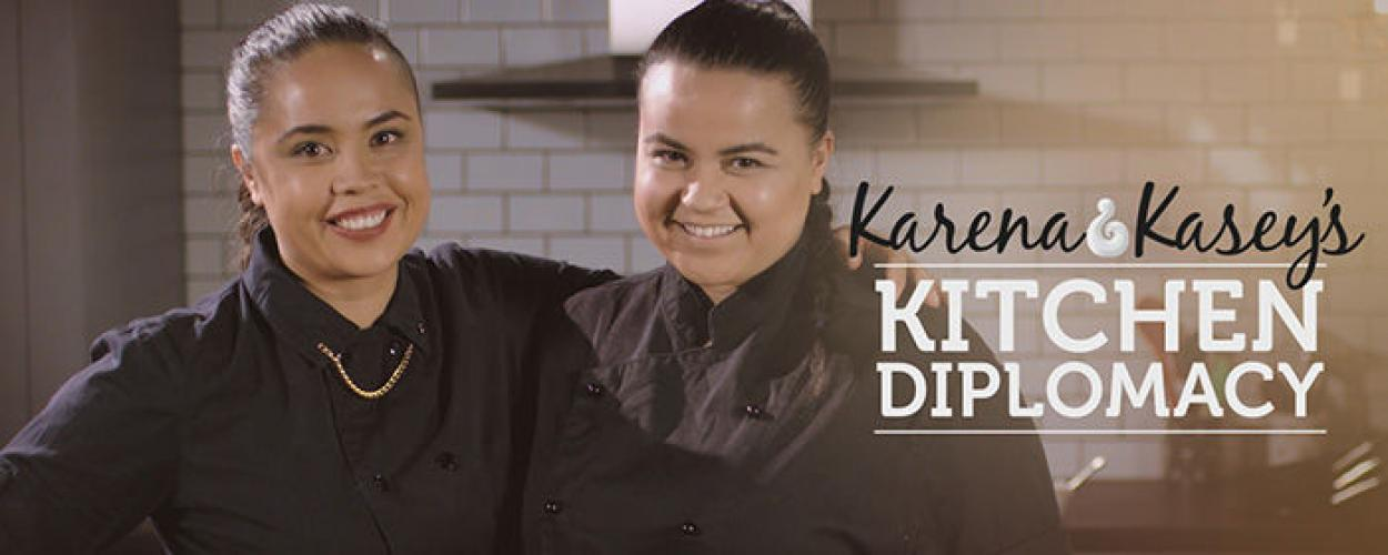 Karena and Kaseys Kitchen Diplomacy next episode air date poster