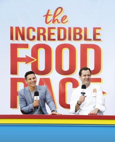 The Incredible Food Race next episode air date poster