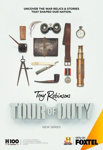 Tony Robinson's Tour of Duty next episode air date poster