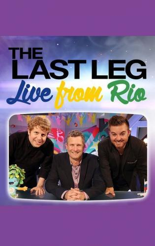 The Last Leg: Live from Rio next episode air date poster