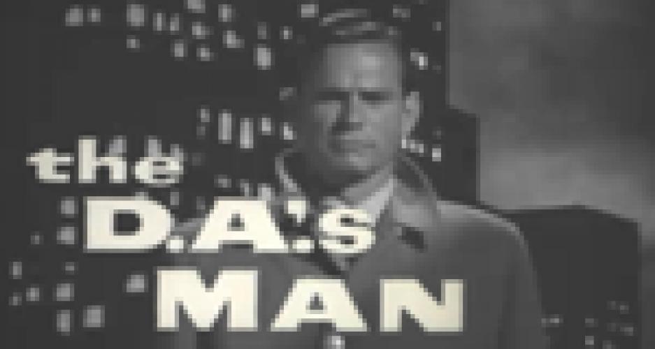 The D.A.'s Man next episode air date poster