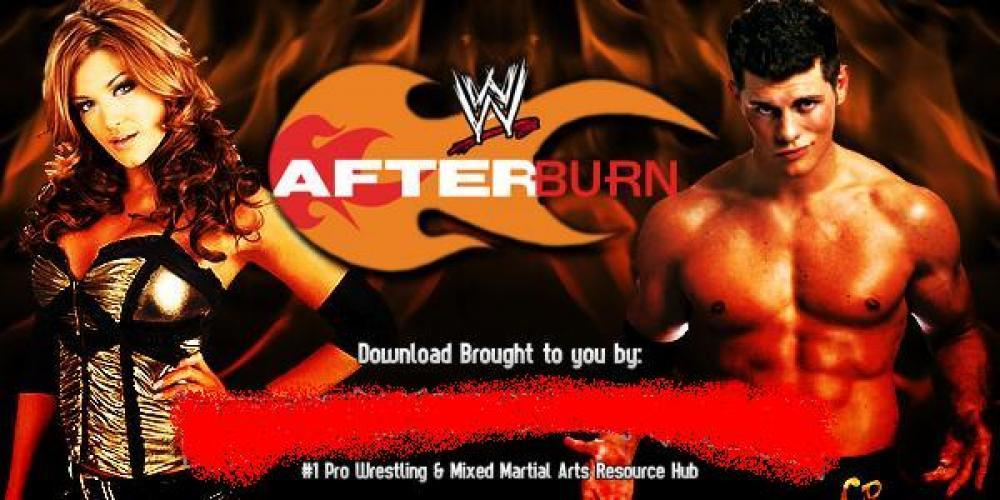 WWE After Burn next episode air date poster