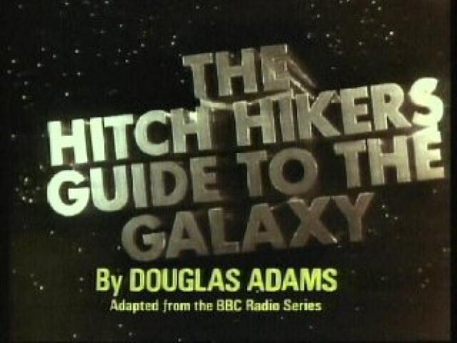 The Hitch Hiker's Guide to the Galaxy next episode air date poster