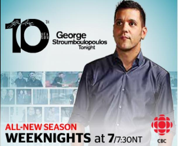 George Stroumboulopoulos Tonight next episode air date poster