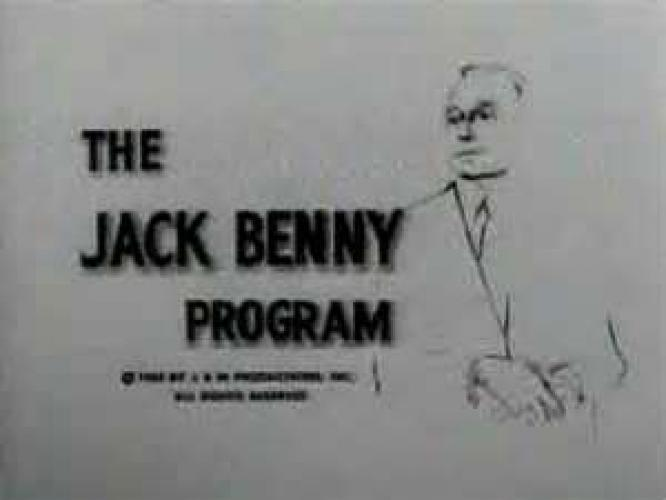 The Jack Benny Program next episode air date poster