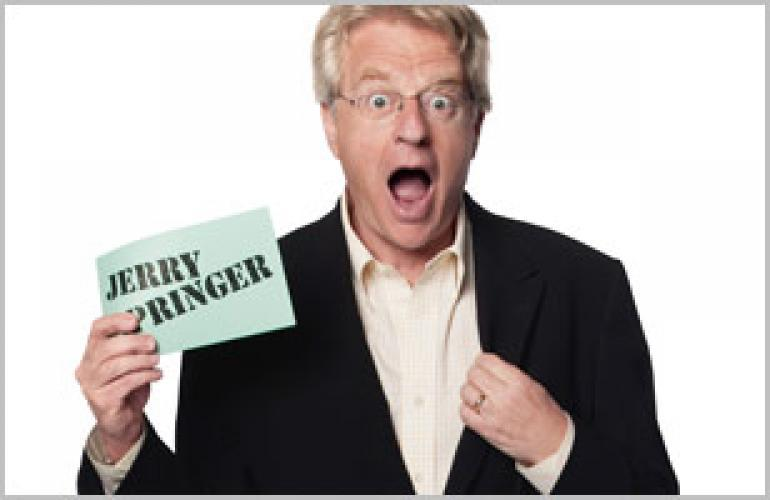 Jerry Springer next episode air date poster