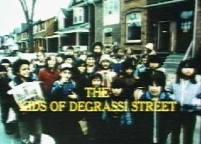 The Kids of Degrassi Street next episode air date poster