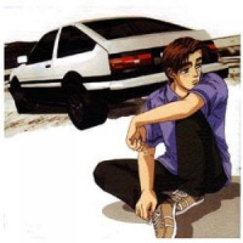 Initial D next episode air date poster