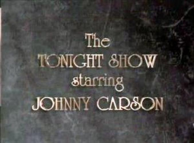 The Tonight Show Starring Johnny Carson next episode air date poster