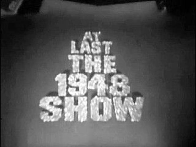 At Last the 1948 Show next episode air date poster