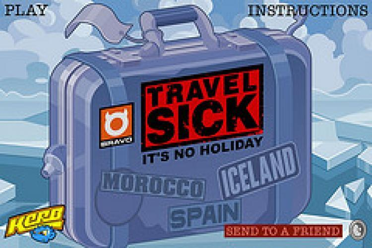 Travel Sick next episode air date poster
