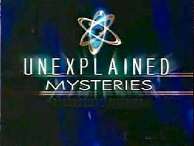 Unexplained Mysteries next episode air date poster