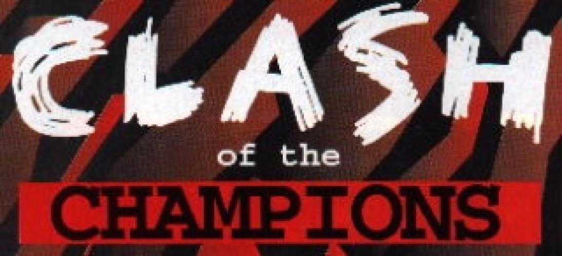 WCW Clash of the Champions next episode air date poster