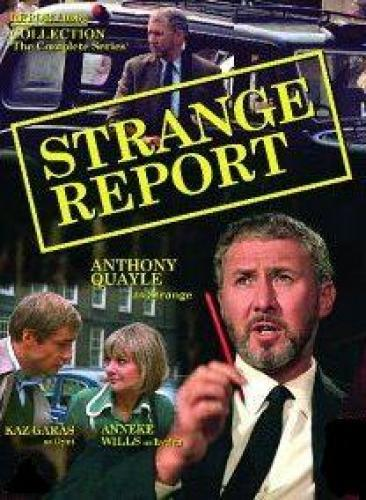 Strange Report next episode air date poster