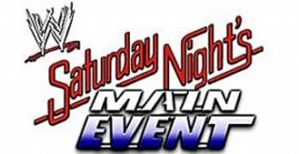 WWE Saturday Night's Main Event next episode air date poster