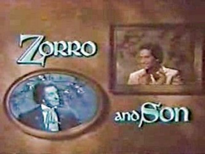 Zorro and Son next episode air date poster