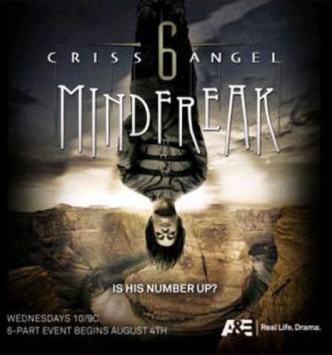 Criss Angel: Mindfreak next episode air date poster