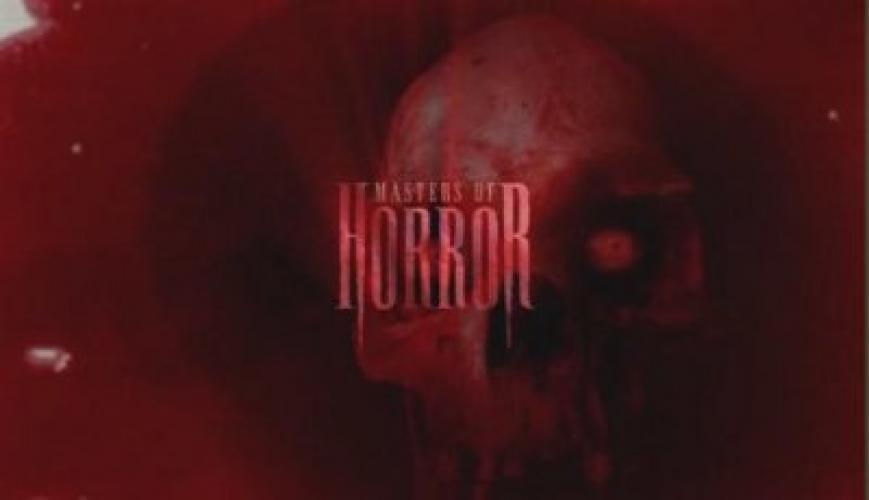 Masters of Horror next episode air date poster