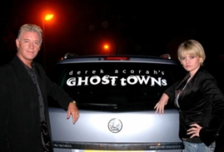 Derek Acorah's Ghost Towns next episode air date poster