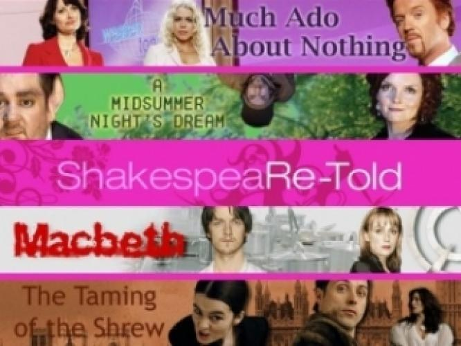 ShakespeaRe-Told next episode air date poster
