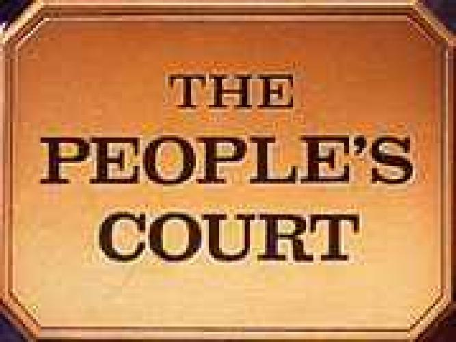 The Peoples Court next episode air date poster