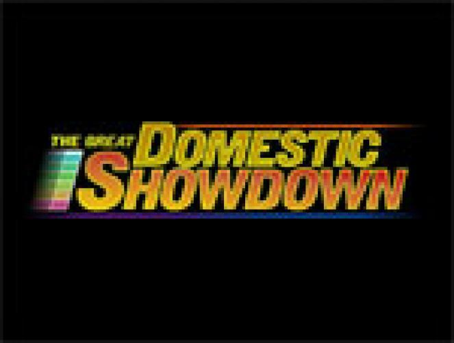 The Great Domestic Showdown next episode air date poster