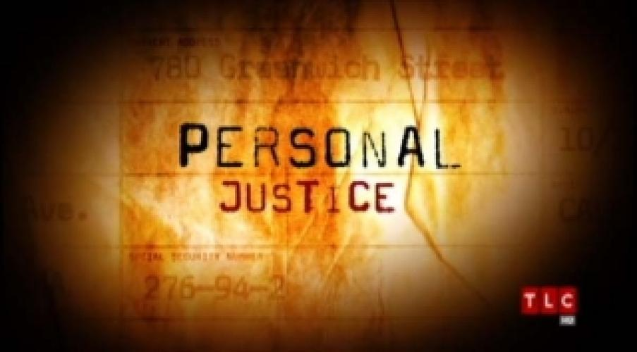 Personal Justice next episode air date poster