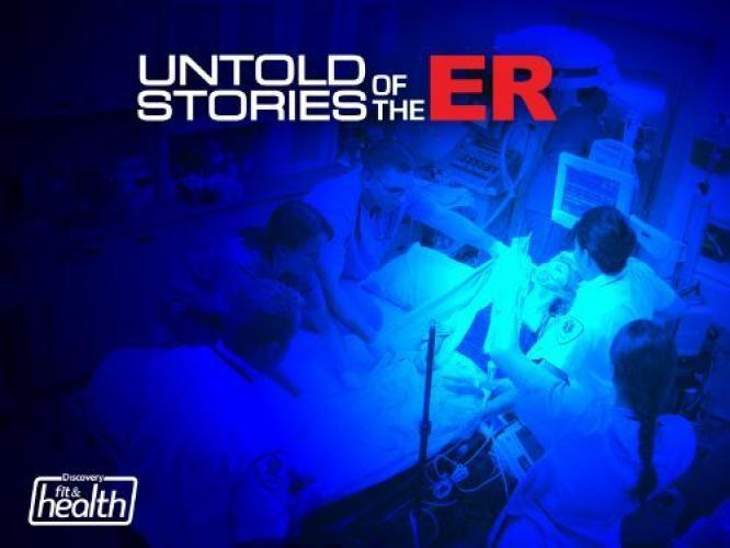 Untold Stories of the E.R. next episode air date poster